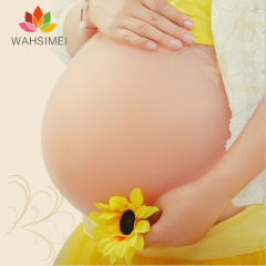 Fake silicon bump for pregnancy,artificial silicon belly,silicon false beer belly