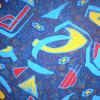 Velvet bus seat fabric