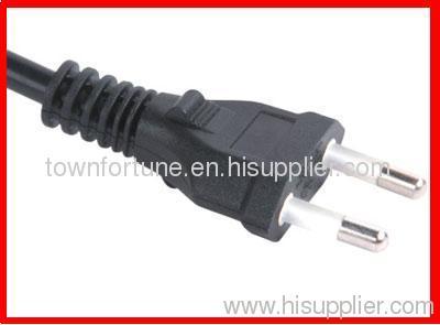 UC 2 pin plug with cords