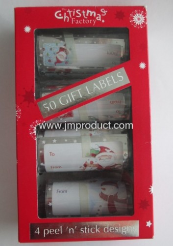 2013 Design Christmas Gift Labels