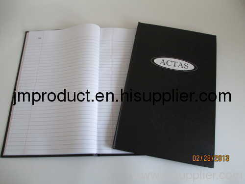 useful black hardbound notebook
