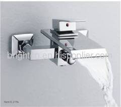 New design waterfall faucet