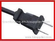 USA 2 Pin polarized power cords