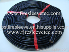 silicone coated fire resistant sleeve