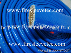 high temperature silicone coated fiberglass Protective Wire Sleeving