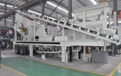 Good quality Mobile combined crushing plant YG4060CS75V1237