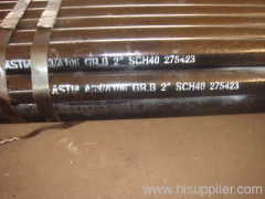 A106B Round Seamless Steel Pipe