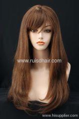 Brazilian hair Yaki lace wigs
