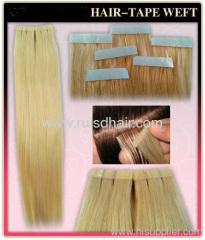 tape indian hair / Brazilian hair/Malaysian hair/Russian hai
