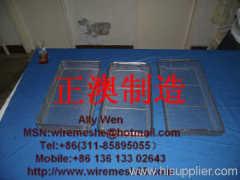 metal wire mesh basket hanging
