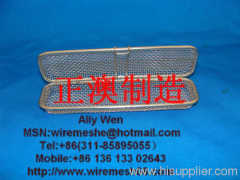 metal wire mesh basket with handle ,metal wire mesh basket hanging,