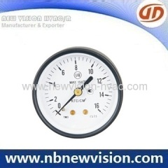 Black Steel Pressure Gauge
