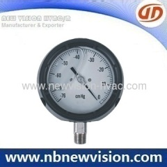 Glass Window Pressure Gauge