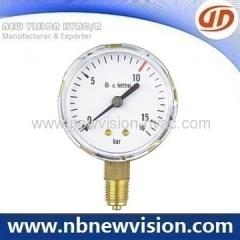 """2.0"""" Dial Pressure Gauge"""