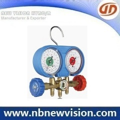 Freon Regulator & Manifold Gauge