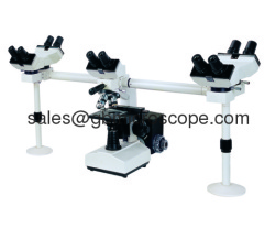 Multi-head 5-person Viewing Microscope:510F5