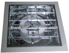 Electrodeless induction grid downlight