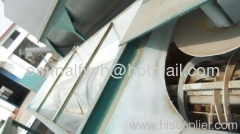 PE plastic recycling machine of washing tank