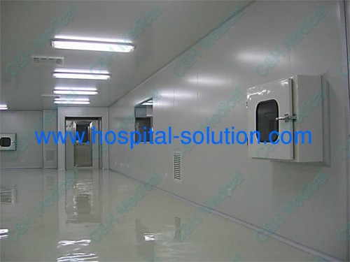 Stainless Steel Pass Boxes For Purificating Air Flow Clean