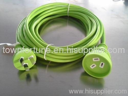 Colored Australian extension cords