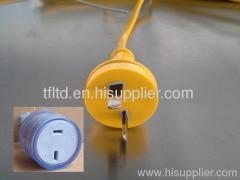 2 flat pins T plugs DC for Australia