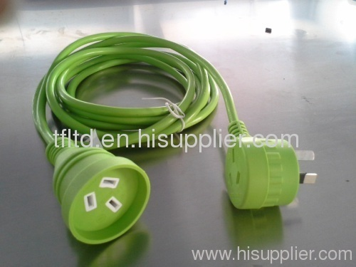 SAA piggyback extension leads in green color