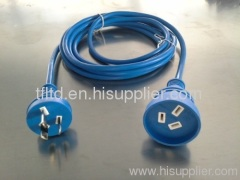 Australian blue extension leads