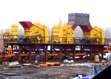 Basalt Crusher Machine Plant