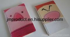 customized shcool writing notebook