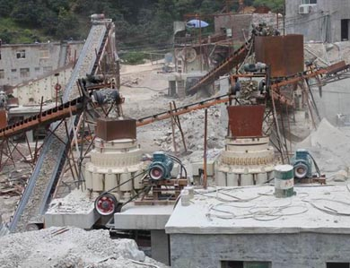 Stationary Stone Crushing Production Line