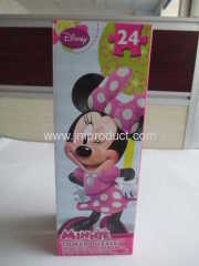 Disney 24 pieces Minnie Puzzle in corrugated box