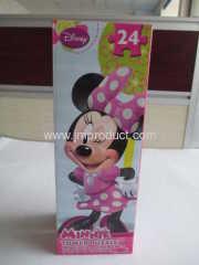 Disney 24 pieces Minnie Puzzle in corrugated box