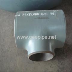 butt weld tee astm a234 wpb sch10 sch40 sch80 sch120 sch160 xs xxs