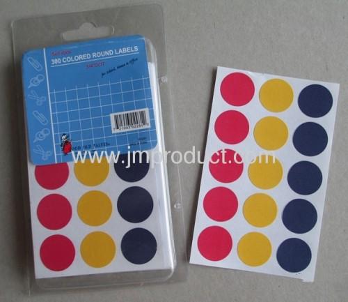 blank or printed price tag labels