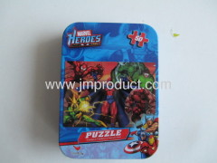 jisaw puzzles in tin
