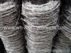 strong supply ability for galvanized barbed wire