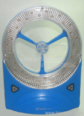 High quality rechargeable LED flashlight fan