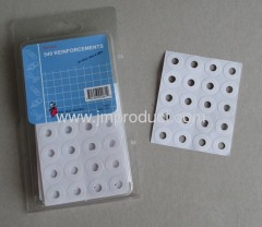 540 holes reinforcements stick label