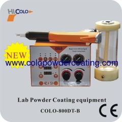 For testing manual powder coating machine
