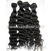 Brazilian machine weft hair