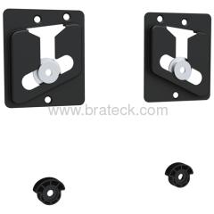 Fixed cheap universal LED wall mount bracket