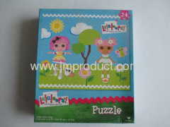 24pieces large puzzle in box