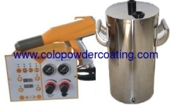Portable with MINI hopper Manual Powder Coating Machine