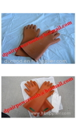 Natural Rubber Industrial Insulating Gloves
