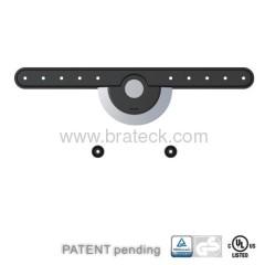 Automatic lock universal steel wall mount bracket