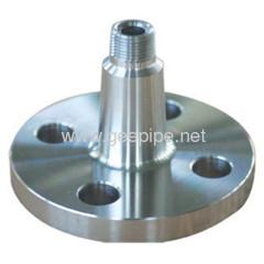 china carbon steel long welding neck flange