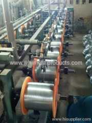 galvanized steel wire in spool
