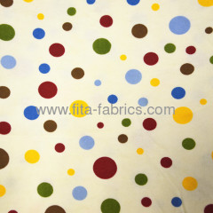 100% cotton Dot printed discount flannel or Flano