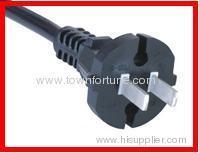 2pin plug with cord for China