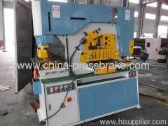 universal hydraulic ironworke machine